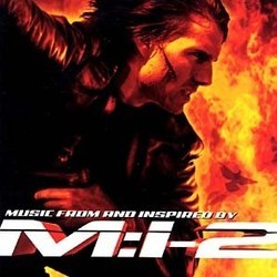 Mission: Impossible II Soundtrack  (Various Artists, Hans Zimmer) - CD cover