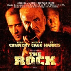 The Rock Soundtrack (Nick Glennie-Smith, Harry Gregson-Williams, Hans Zimmer) - CD cover