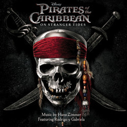 Pirates of the Caribbean: On Stranger Tides Soundtrack (Rodrigo y Gabriela, Hans Zimmer) - CD cover