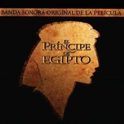 El Principe de Egipto Soundtrack  (Various Artists, Hans Zimmer) - CD cover
