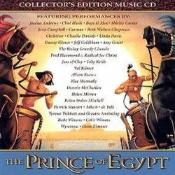 The Prince of Egypt Soundtrack  (Various Artists, Hans Zimmer) - CD cover