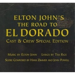 The Road to El Dorado 声带 (Elton John, John Powell) - CD封面