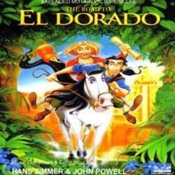 The Road to El Dorado Soundtrack (John Powell, Hans Zimmer) - CD cover