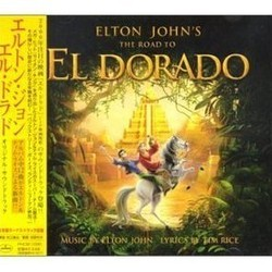 The Road to El Dorado Soundtrack (Elton John, John Powell, Hans Zimmer) - CD cover