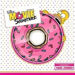 The Simpsons Movie Ścieżka dźwiękowa (Danny Elfman, Hans Zimmer) - Okładka CD