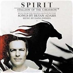 Spirit: Stallion of the Cimarron サウンドトラック (Bryan Adams, Hans Zimmer) - CDカバー