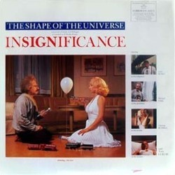 Insignificance Soundtrack (Various Artists, Stanley Myers, Hans Zimmer) - CD cover