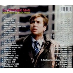The Weather Man Soundtrack (Hans Zimmer) - CD Back cover