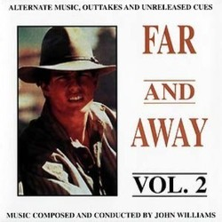 Far and Away Vol.2 Soundtrack (John Williams) - CD-Cover
