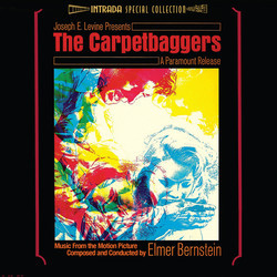 The Carpetbaggers Bande Originale (Elmer Bernstein) - Pochettes de CD
