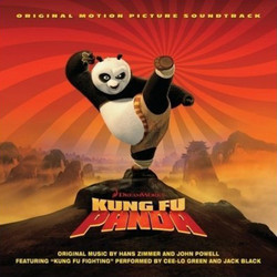 Kung Fu Panda Soundtrack (John Powell, Hans Zimmer) - CD cover