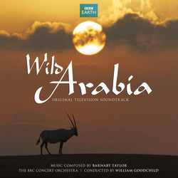 Wild Arabia Soundtrack (Barnaby Taylor) - CD cover
