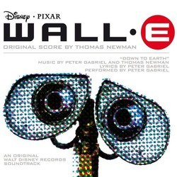 WALL·E Soundtrack (Thomas Newman) - CD cover