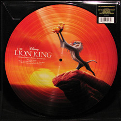 The Lion King Soundtrack (Various Artists, Hans Zimmer) - CD Trasero