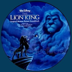 The Lion King Soundtrack (Elton John, Hans Zimmer) - CD cover