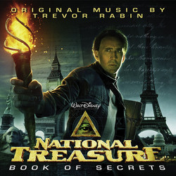 National Treasure: Book of Secrets Soundtrack (Trevor Rabin) - CD cover