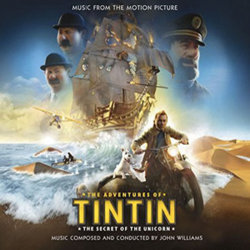 The Adventures of Tintin: The Secret of the Unicorn Soundtrack (John Williams) - CD cover