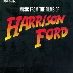 Music from the Films of Harrison Ford Soundtrack  (John Barry, Ron Goodwin, James Horner, James Newton Howard, Maurice Jarre,  Vangelis, John Williams, Hans Zimmer) - CD cover