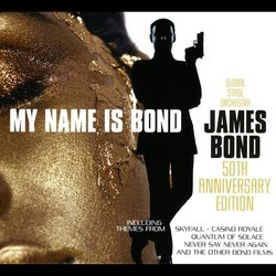 My Name Is Bond... James Bond: 50th Anniversary Edition Soundtrack (Various Artists) - CD cover