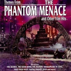 Themes from The Phantom Menace and Other Film Hits Soundtrack (Various Artists, John Williams) - CD-Cover
