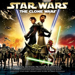 Star Wars: The Clone Wars Soundtrack (Kevin Kiner) - Carátula
