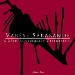 Varèse Sarabande - A 25th Anniversary Celebration Volume Two サウンドトラック (Various Artists) - CDカバー