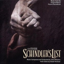 Schindler's List Soundtrack (John Williams) - CD cover