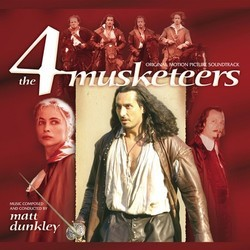 The 4 Musketeers Colonna sonora (Matt Dunkley) - Copertina del CD