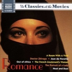 The Classics at the Movies: Romance Colonna sonora (Various Artists) - Copertina del CD