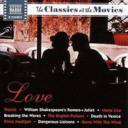 The Classics at the Movies: Love Soundtrack (Various Artists) - CD cover