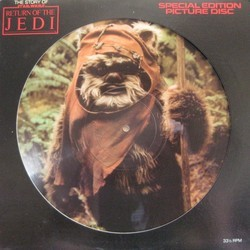 The Story of Star Wars: The Return of the Jedi Soundtrack (John Williams) - CD cover