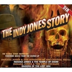 The Indy Jones Story Bande Originale (John Williams) - Pochettes de CD
