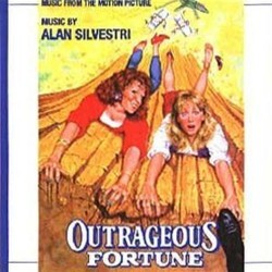Outrageous Fortune / Downtown Soundtrack (Alan Silvestri) - CD-Cover