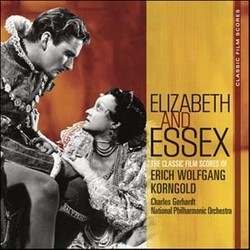 Elisabeth and Essex Soundtrack (Erich Wolfgang Korngold) - CD cover