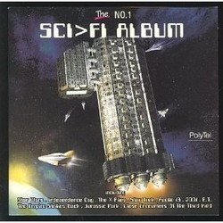 The No. 1 Sci-Fi Album Soundtrack (Various Artists) - CD cover