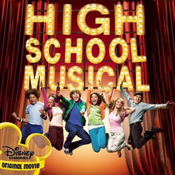 High School Musical Soundtrack (Various Artists) - CD cover