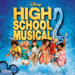High School Musical 2 Soundtrack (Various Artists) - CD cover