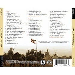 Into the West Soundtrack (Geoff Zanelli) - CD Back cover