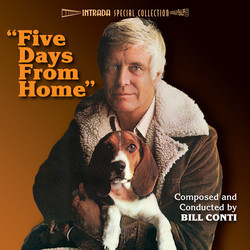 Five Days from Home Trilha sonora (Bill Conti) - capa de CD