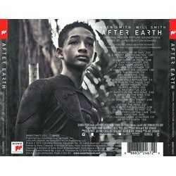 After Earth サウンドトラック (James Newton Howard) - CD裏表紙