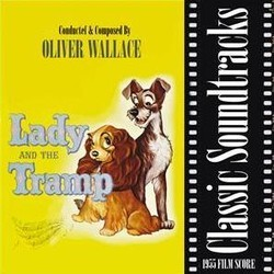 Lady and the Tramp Bande Originale (Oliver Wallace) - Pochettes de CD