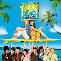 Teen Beach Movie Soundtrack (Various Artists) - CD cover