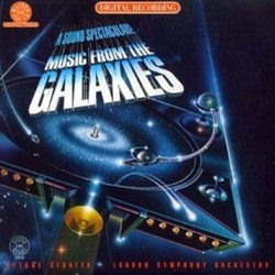Music from the Galaxies Soundtrack (Richard Band, John Barry, Jerry Goldsmith, Laurie Johnson, Stu Phillips, Laurence Rosenthal, John Williams) - CD cover