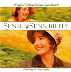 Sense and Sensibility Soundtrack (Patrick Doyle) - CD cover