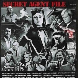 Secret Agent File Bande Originale (Burt Bacharach, John Barry, Jerry Goldsmith, Ron Grainer, Earle Hagen, Sol Kaplan, Monty Norman, Mike Post) - Pochettes de CD