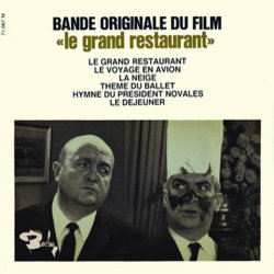 Le Grand Restaurant Soundtrack (Jean Marion) - CD cover
