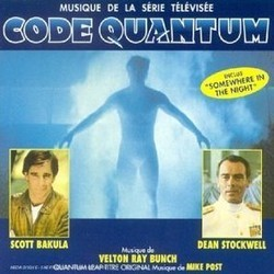 Code Quantum Soundtrack (Scott Bakula, Velton Ray Bunch, Mike Post) - CD cover