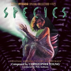 Species Soundtrack (Christopher Young) - Carátula