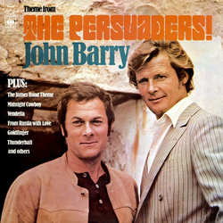 The Persuaders! Soundtrack (John Barry) - Carátula