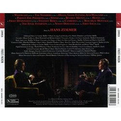 Frost/Nixon Soundtrack (Hans Zimmer) - CD Back cover